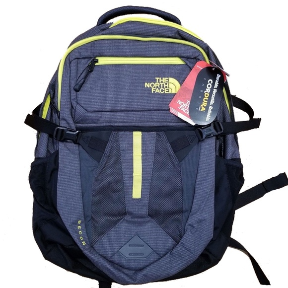 8f2f81a83 The North Face Men's Recon Backpack Grey Yellow NWT